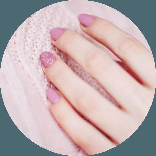 Nagelmodellage, rosa Nägel im Kosmetikstudio Berlin Weißensee - Cosmetic by Natali